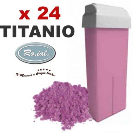Stock cartuccie ricarica scaldacera 100 ml titanio