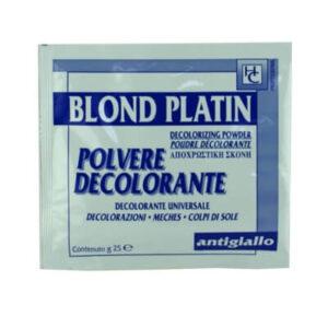 Polvere decolorante capelli in bustina