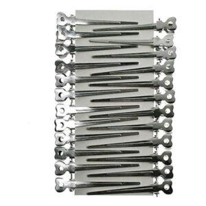 Becchi spadino cicogna in Alluminio per bigodini
