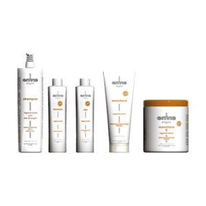 Prodotti per capelli Envie con olio di argan