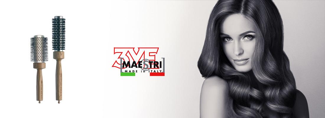 3ME Maestri le spazzole per Capelli Made in Italy