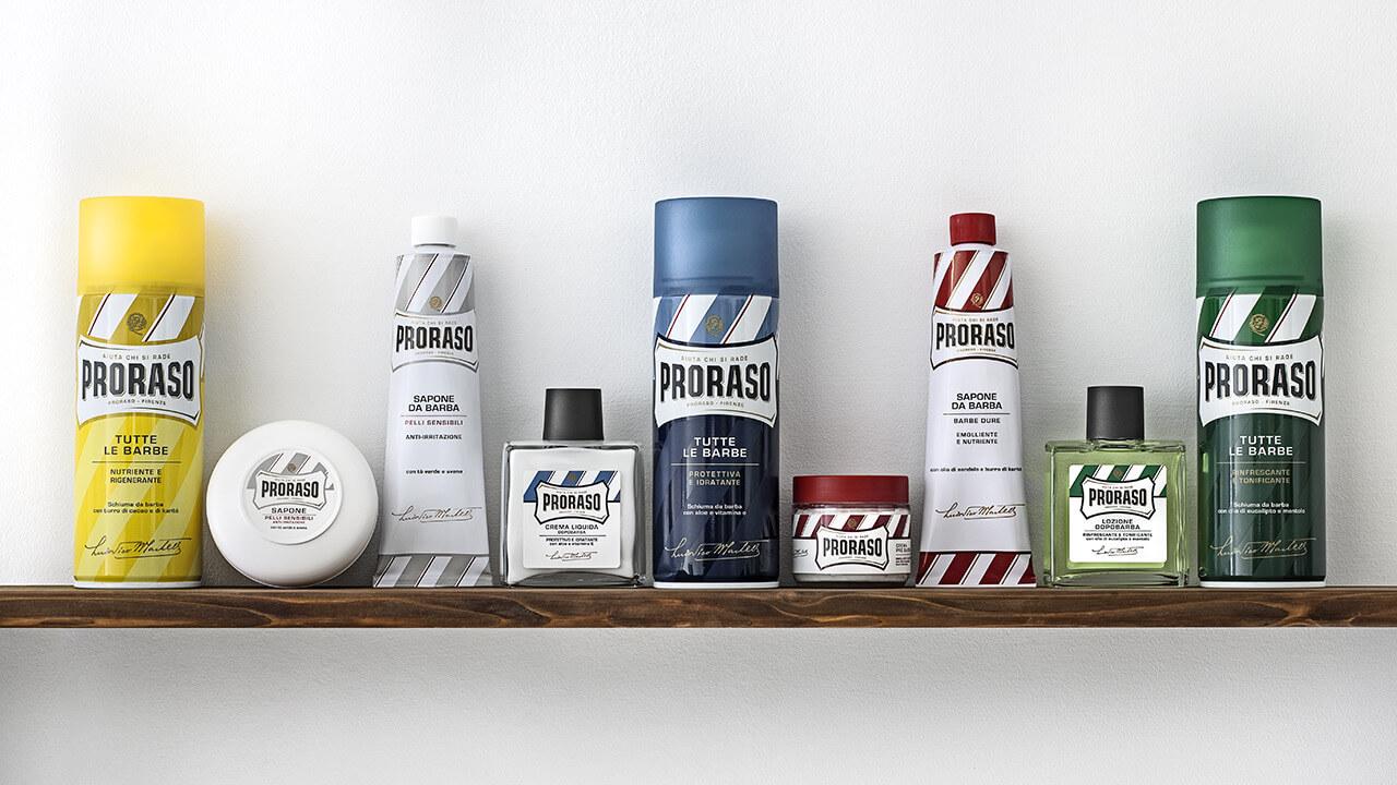 Proraso cura barba prodotti rasatura