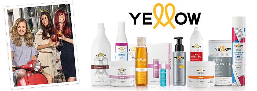 Yellow prodotti per capelli