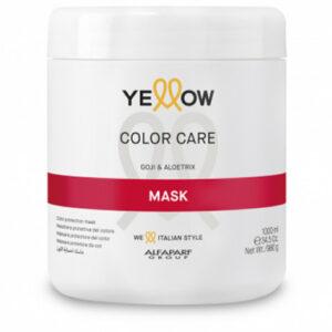Maschera protettiva colore Yellow Color Care Alfaparf